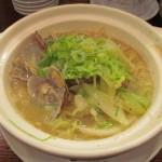 タイガー軒アサリと葱の土鍋煮込み麺サムネイル