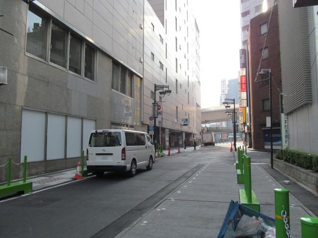 東急プラザ渋谷閉館日朝にプラザ通りを246方向