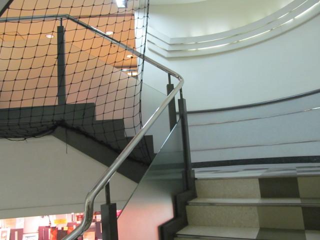 東急プラザ渋谷5Fから階段上を見る
