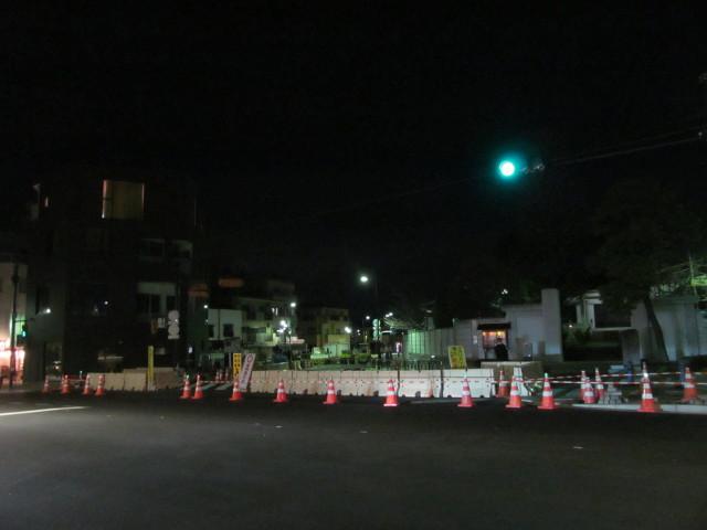 補助154号線を駒沢公園通りから見る