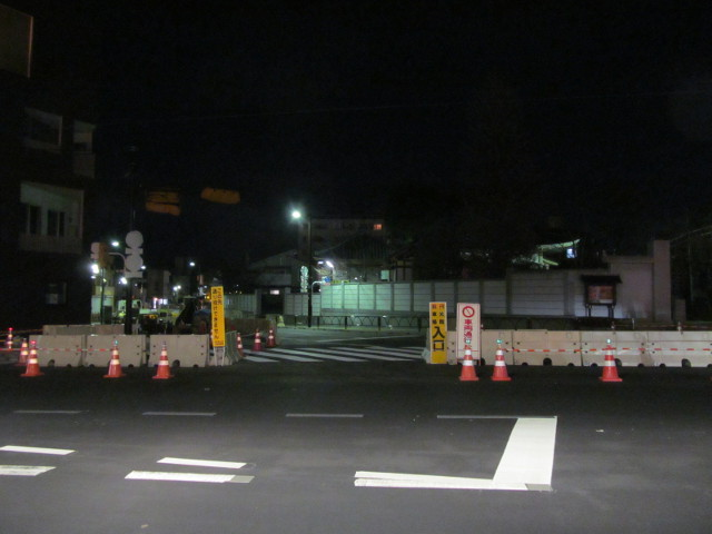 補助154号線世田谷通りから世田谷駅方面
