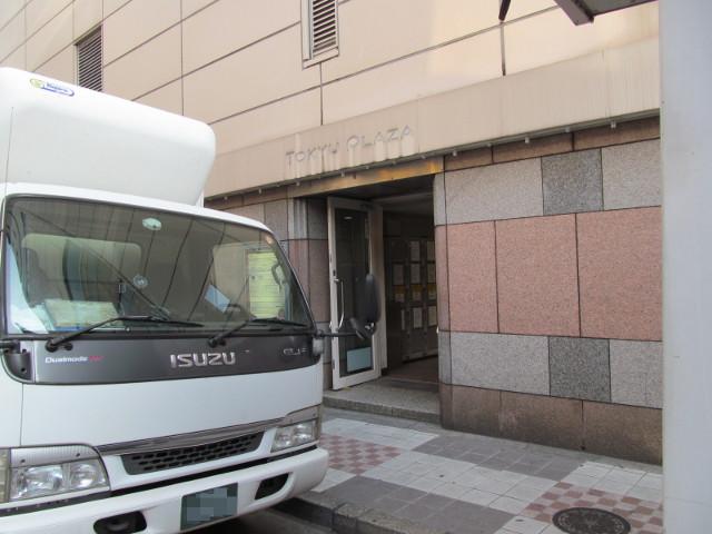 東急プラザ渋谷閉館日朝のプラザ通り側入口