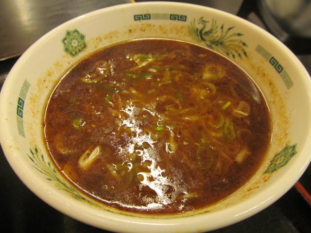 日高屋和風つけ麺のつけ汁