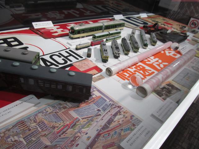 東急プラザ渋谷タイムスリップギャラリー渋谷と東急線4