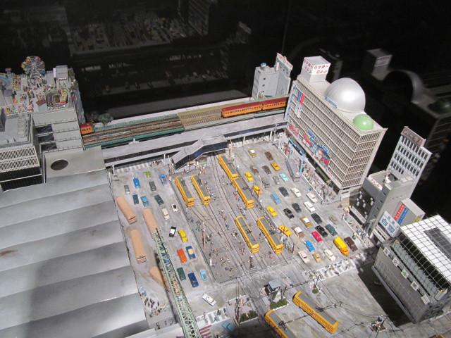 東急プラザ渋谷タイムスリップギャラリージオラマ5