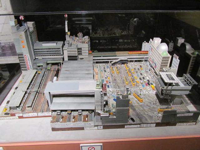 東急プラザ渋谷タイムスリップギャラリージオラマ1