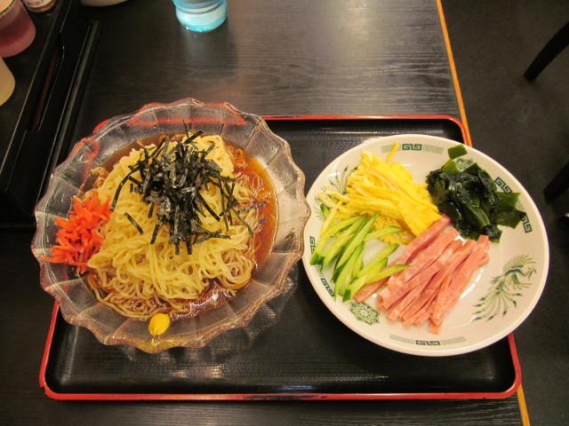 日高屋黒酢しょうゆ冷し麺