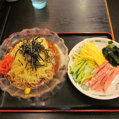 日高屋黒酢しょうゆ冷し麺サムネイル