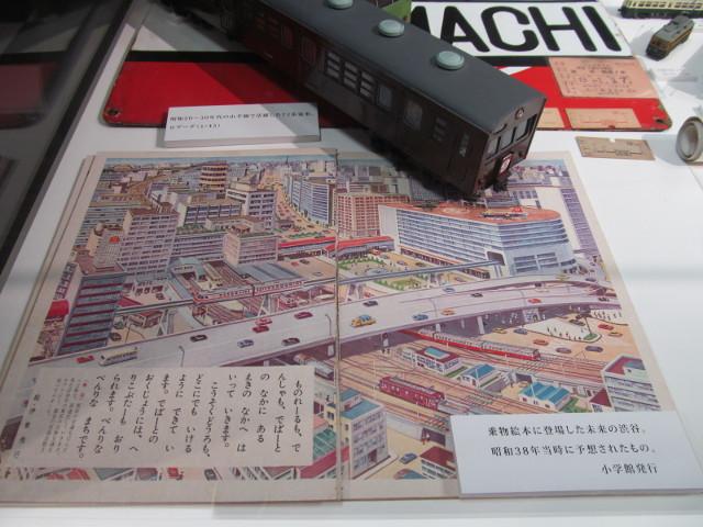 東急プラザ渋谷タイムスリップギャラリー渋谷と東急線8