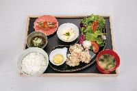 サクサク鶏竜田塩レモンとおろしポン酢