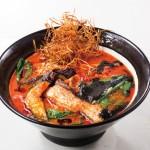 イカ墨ブラックアラビアータトマト麺サムネイル