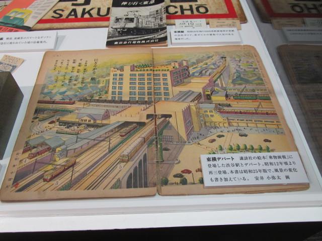 東急プラザ渋谷タイムスリップギャラリー渋谷と東急線14