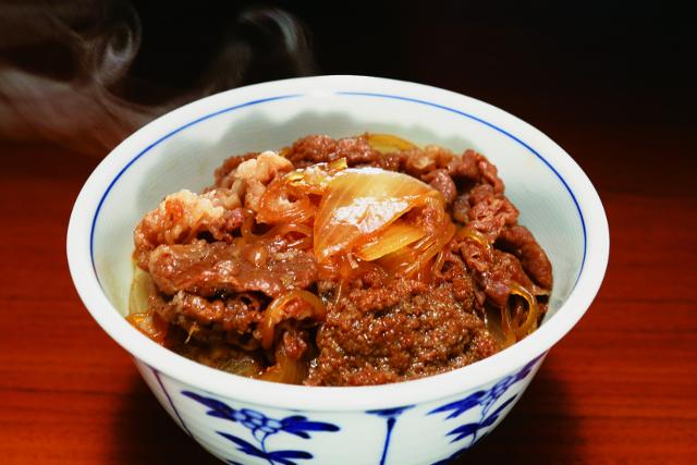 神戸ビーフの牛丼