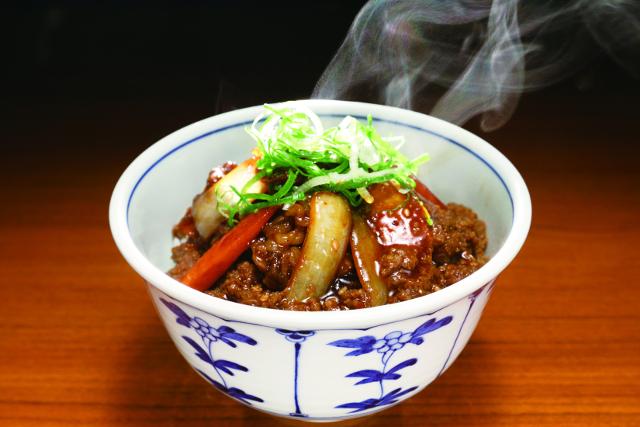 神戸ビーフの焼肉丼