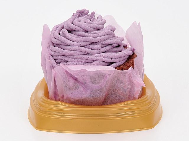 紫いもモンブラン