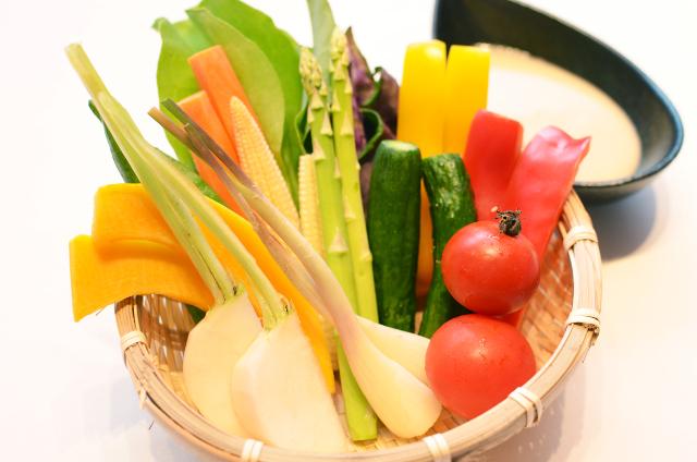 琉球焼肉NAKAMAの島野菜たち