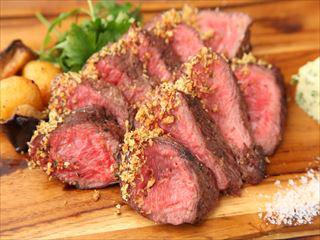 熟成肉のチャックロールステーキ
