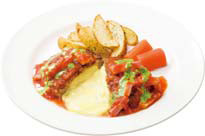 ガストベーコンとトマトのイタリアンチーズINハンバーグ