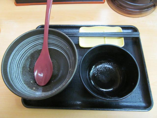 吉野家鶏そぼろ飯を完食完飲