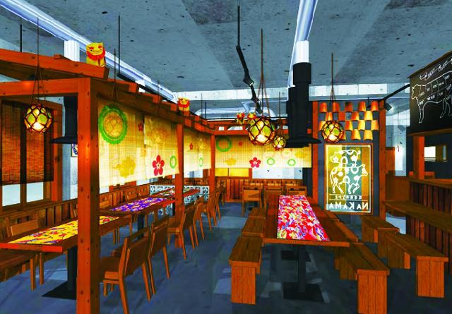 琉球焼肉NAKAMA店内イメージ