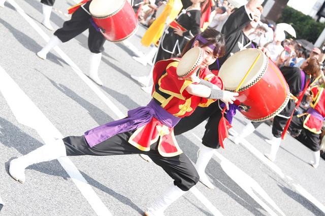 新宿エイサーまつり2014の様子1