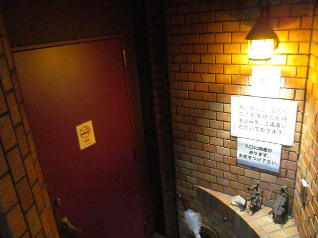 WANTED初日のサラヴァ東京入口
