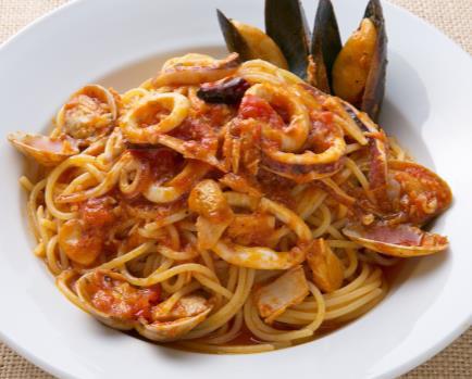 漁師風スパゲティペスカトーレ