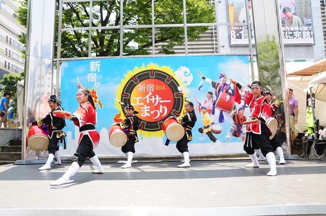 新宿エイサーまつり2014の様子2