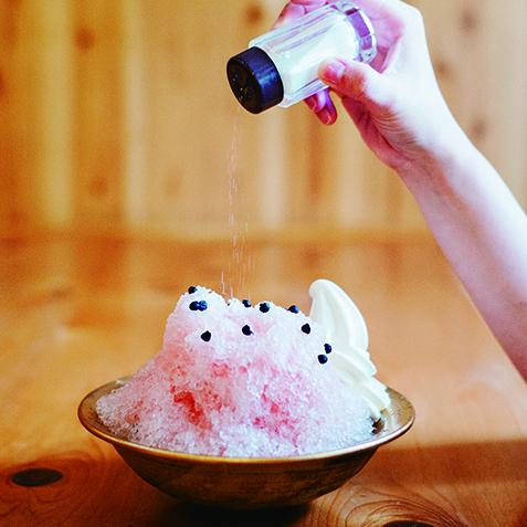 コメダすいか味かき氷サムネイル