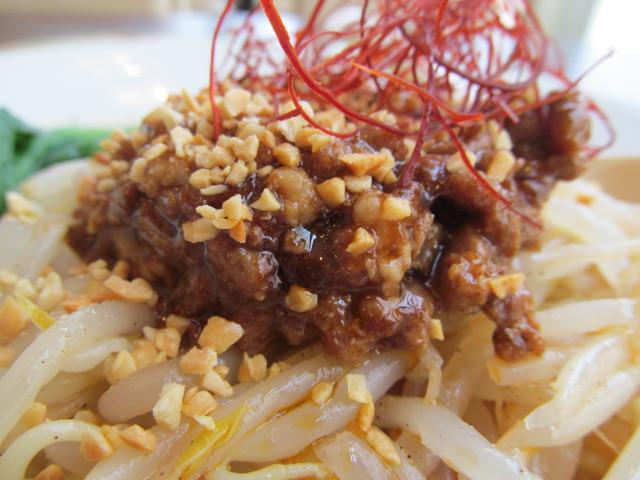 バーミヤン香り立つ冷やし坦々麺の挽き肉