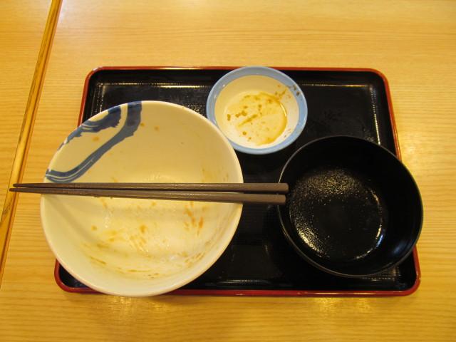 松屋山かけネギトロ丼大盛を完食完飲