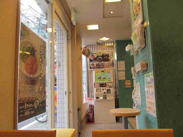 松屋店内を眺める20150730
