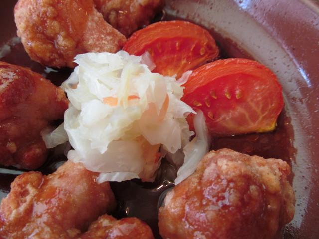 サイゼリヤ鶏肉のオーブン焼きのキャベツ