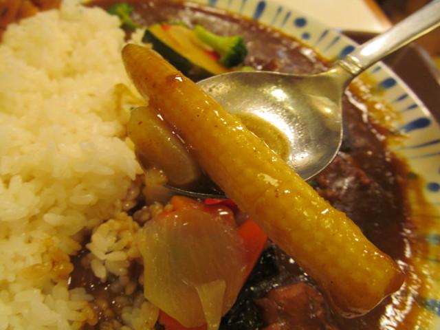 すき家チキンと彩り野菜カレーのヤングコーン