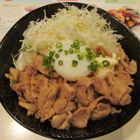 ガスト豚肉スタミナ丼ランチ温玉添えサムネイル