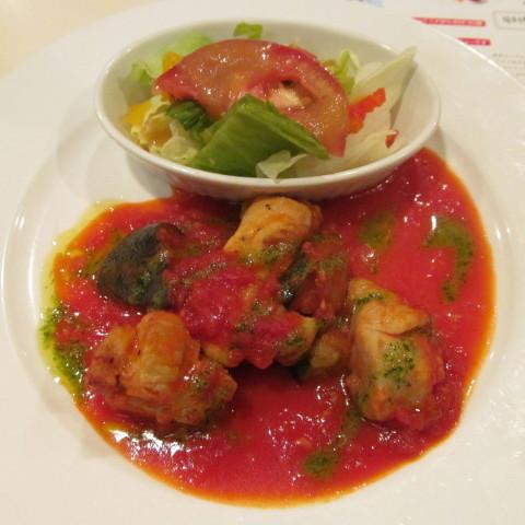 ガストチキンとなすのトマト煮ランチサムネイル2