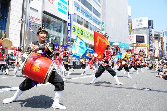 新宿エイサーまつり2014の様子20150716