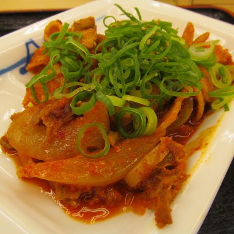 松屋豚キムチ定食ライス大盛サムネイル