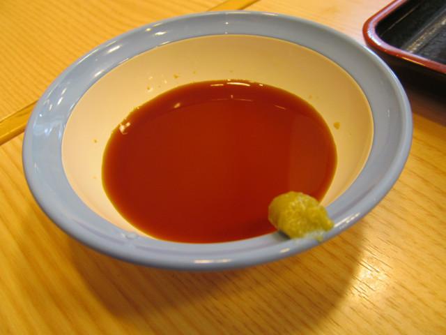 松屋山かけネギトロ丼大盛の特製ダレ