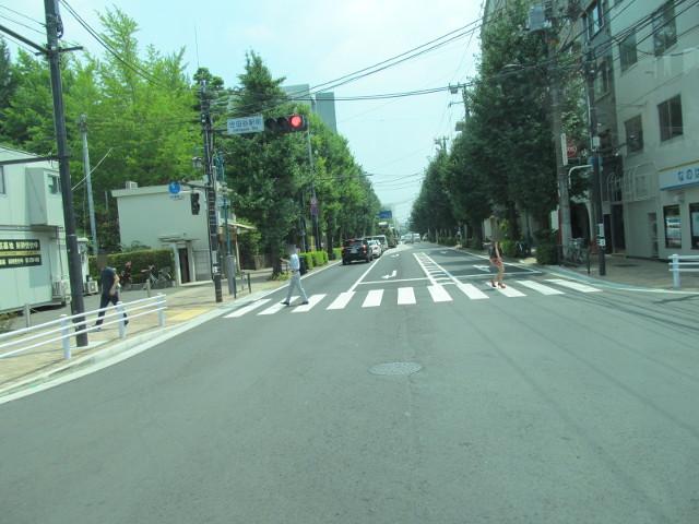 世田谷通りを通過する等13系統等々力発一番バス