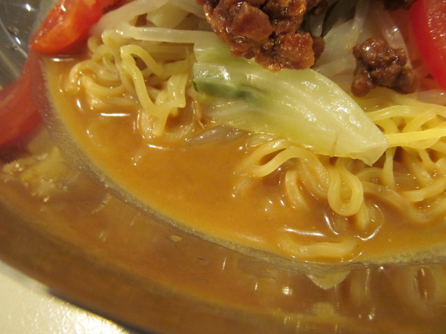 ガストピリ辛冷やしタンタン麺の汁