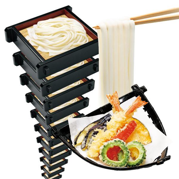 味の民芸季節の天ぷら付セイロうどん食べ放題