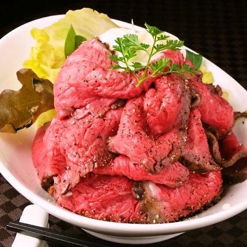 銀座牛超ローストビーフ丼