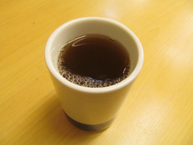 かつやのお茶20150814