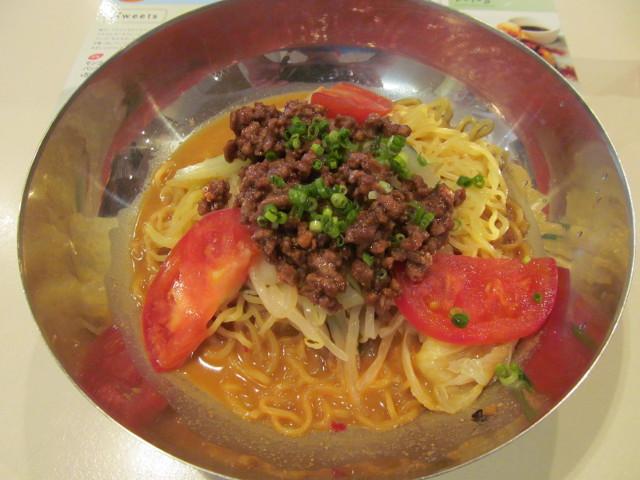 ガストピリ辛冷やしタンタン麺