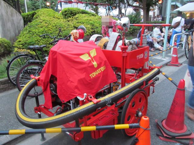 網代警戒所の消防機材20150822