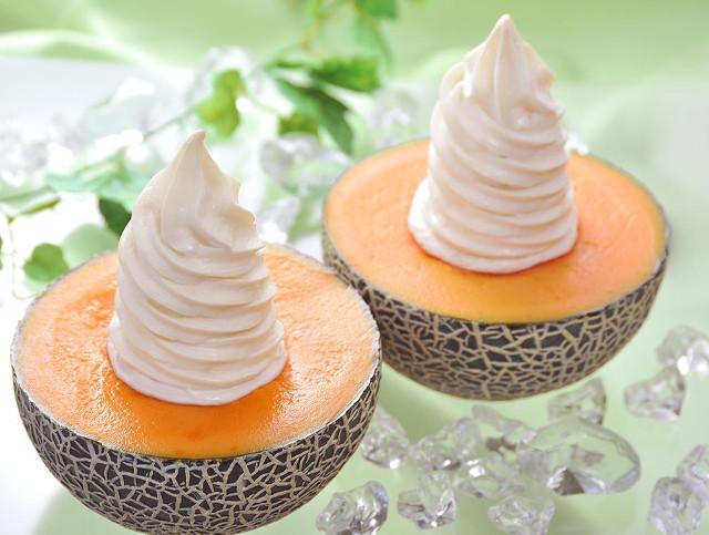 札幌やおきゅう生メロンソフトクリーム