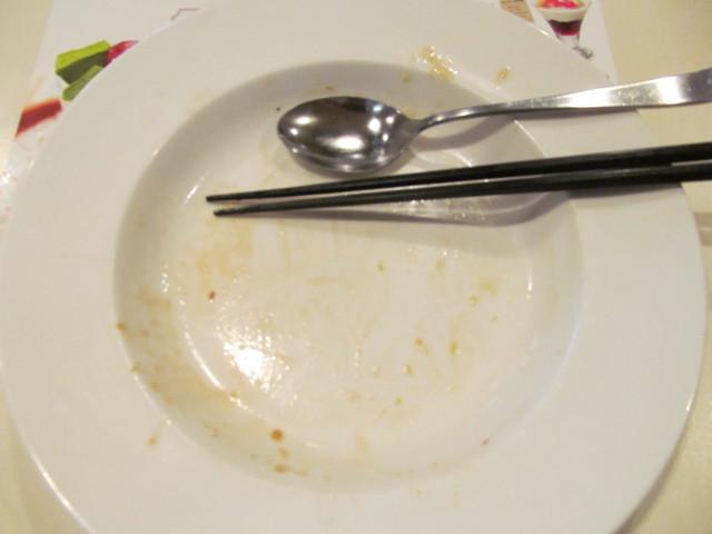 ガスト柔らかビーフグリルとアボカドのサラダごはんを完食