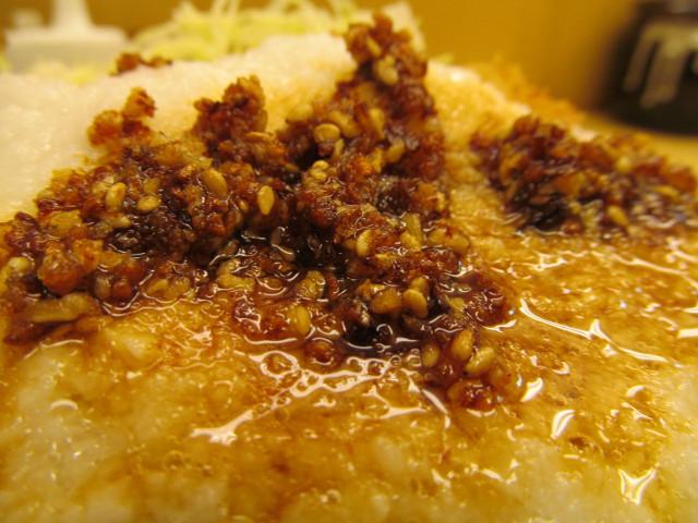 かつやぶっかけとろろチキンカツ丼のザクザク醤油