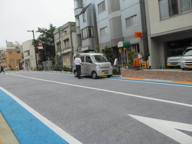 東急バスの軽自動車